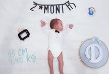 Baby month photos