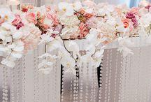 Esküvő főasztal Dekor