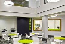 Higher education interiors