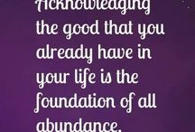 creating abundance / loving life,wealth and creating intention.