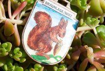 Squirrels - Vintage Charms & Bracelets