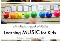 montessorie and music
