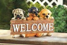 Here's Your Sign Porch Decor / Artistic and whimsical sign decor for your porch and home
