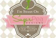 SugarPea Designs Clear Stamps / Cards created using SugarPea Designs clear stamps / by Wendy Ramlakhan