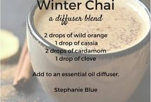 Diffuser blends / Essential oils + diffuser = non toxic scentsation