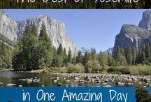 Yosemite Nat. Park and Accommodation