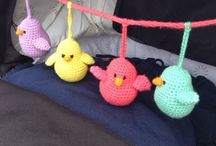 crochet toys and aplikation