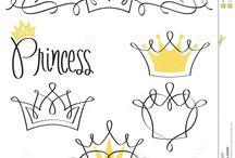 Prinzessinnenkronen