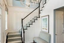 pasillos y escaleras