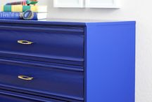 Colour with furniture
