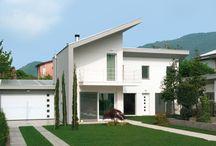 Villa moderna in legno ad Albino (BG) / Villa moderna in legno ad Albino (BG)