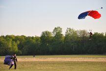 Skydiving / Skydiving & Parachuting / by Hardev Saini