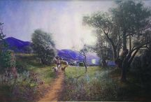 ambroise gioan / peintre provençal fin 19 e sciecle