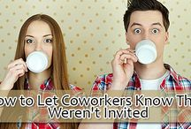 How to Let Coworkers Know They Weren't Invited / Before you start inviting and not inviting your coworkers on your wedding, there are a few things you'll want to keep in mind.  http://www.kimberleyandkev.com/let-coworkers-know-werent-invited/