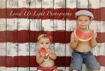 4th of July photo ideas / by Johanna Easterday