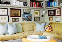 Den, Family & Living Rooms / Inspirations for a  comfortable place to gather.