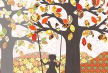 studio poppy amsterdam / tapetentiere, tapetenfiguren und tapetenbäume voller nostalgie, charme und anmut