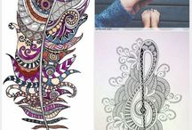Modele Zentangle