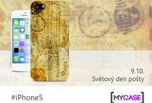 iPhone 5 / Nech se inspirovat originálními kryty na iPhone 5! Začni tvořit na www.mycase.cz