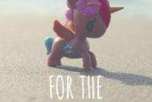 unicorn and draken