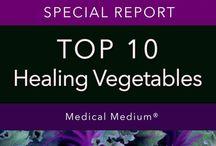 10 Top Healing Vegetables