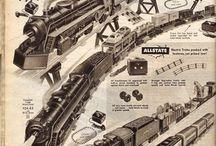 Electric trains sets