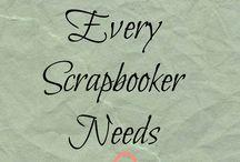 Scrap book making