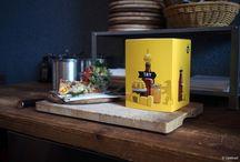 TRYBerlin / Geschenktipp gefällig? Wie wäre es mit dem Geschmack der Hauptstadt! Das auf der Berlin Food Week vorgestellte Try Berlin Set von @Try Foods vereint fünf einzigartige Produkte aus Berliner Manufakturen in einem Probierset. Optimal zum verschenken oder selber genießen. #lokum #berlinerweisse #honig #sauce #blutwurst   https://www.tryfoods.de/set/berlin