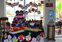 Kiddie birthday party ideas / by Kim Fick