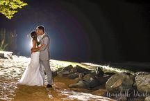 Backlit Night Shots (weddings/engagements)