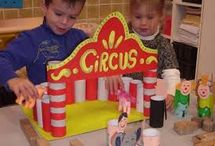 cirkusz, bohócok