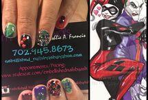 Embellished Nails by Ash / Instagram: @embellished_nailsbyash  Facebook: Embellished NailsbyAsh 702-945-8673 NailArt Nails Bling AcrylicNails ChromeNails Nail Art Ideas