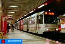 Bonn - Stadtbahnen Baujahr 1993 - Typ Duewag B100C / Sie sehen hier eine Auswahl meiner Fotos, mehr davon finden Sie auf meiner Internetseite www.europa-fotografiert.de.