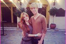 Bella Throne and her boyfriend