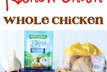 Crockpot foods / by Kristen Gibson