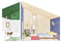 Architecture illustrations