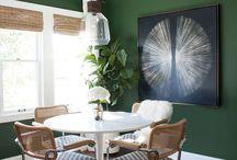 Grün Zimmer