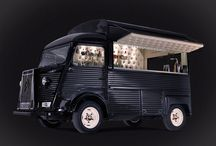 Our Bar / Our beloved 1981 Citroen H Van that we have restored from rust