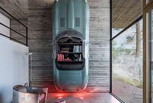 car interior J