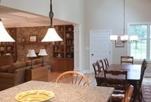 Dining Room Lighting / Beautiful Dining Room Lighting by Hubbardton Forge. Hand-crafted Fine American made Lighting.