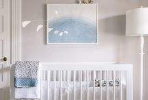 modern nursery   inspiration / A collection of beautiful and modern nurseries.