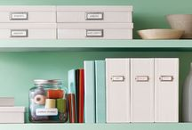 Ideas for the home office / Here you can find some of our ideas to get your home office looking more organised