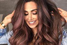 Rose brown hair ideas