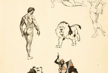 Frank Frazetta sketches