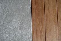 pietre & legno / pavimenti realizzati con pietre e legni di recupero