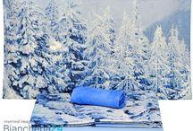 LENZUOLA NOVIA - BIANCHERIA24 / Collezzione di bellissime lenzuola matrimoniali stampate in digitale ad alta risoluzione con i più bei paesaggi.