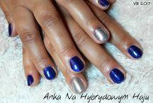 Winter nails - zimowe paznokcie