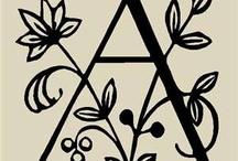 alphabet / by Tina Borda DuTill
