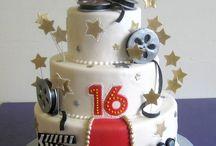 Hollywood inspired cake