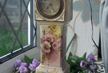 ANTIQUE CLOCK & WATCHES
